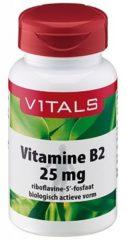 Vitals Vitamine B2 25 mg Voedingssupplementen - 100 vegicaps