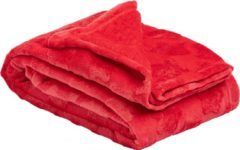 Amo La Casa Deken Nutcracker 120 X 160 Cm Polyester Rood