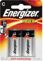 Energizer EN-E300129500 Alkaline Batterij C 1.5 V Max 2-blister