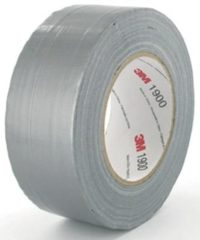 Zilveren 3m Economy duct tape 50 mm. rol a 50 m. zilver 190050s