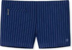 Schiesser Zwemboxer Rits Retro Heren - Blauw - XL
