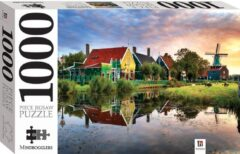 Massamarkt Mindbogglers puzzel Zaandam 1000pcs