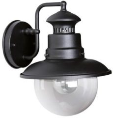 Zwarte KS Verlichting Buitenlamp Salo