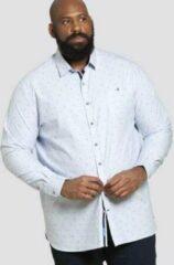 Duke Addington Overhemd Lichtblauw Maat 3xl
