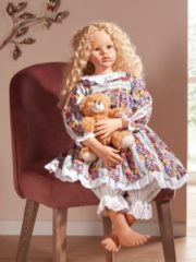 Puppe Anna Mehrfarbig