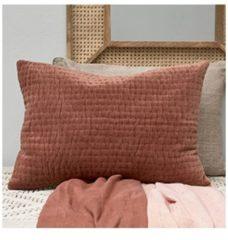 Oranje Riviera Maison sierkussenhoes Basic Bliss Quilt (65x45 cm)