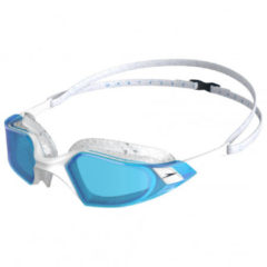 Speedo - Aquapulse Pro - Zwembril maat One Size, grijs/turkoois/wit/blauw