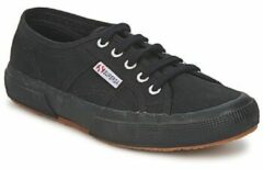 Zwarte Superga 2750 Cotu Classic Trainers - Black - 6 - Black