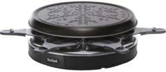 Raclette Raclette-Grill Deco Cristal 6 Tefal Schwarz