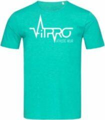 Groene FitProWear Regular fit Casual Heren T-shirt Maat L