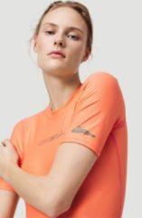 Oranje O'Neill - UV-shirt met korte mouwen voor dames - Essential - Zalmroze - maat XL