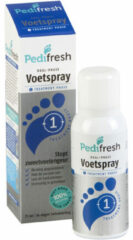 Pedifresh Fase 1 Tegen Acute Zweetvoeten Spray (75ml)