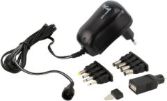 HyCell 1201-0007 Stekkernetvoeding, instelbaar 3 V/DC, 4.5 V/DC, 5 V/DC, 6 V/DC, 7.5 V/DC, 9 V/DC, 12 V/DC 1000 mA 12 W