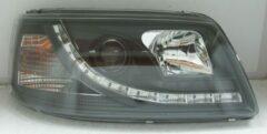 Set Koplampen DRL-Look Volkswagen T5 2003-2010 - Zwart