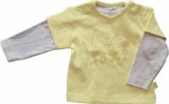 Gele Ducky beau Baby T-shirt Maat 62