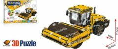 Maestro 3D puzzle Road roller wals