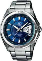 Casio Quartz Horloge EF-129D-2AVEF (l x b x h) 49 x 44.8 x 10.4 mm RVS Materiaal (behuizing): RVS Materiaal (armband): RVS