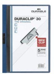 Durable Klemmap DURACLIP 30 - 2200 220007 DIN A4 Donkerblauw