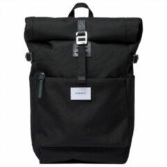 Sandqvist Ilon Black Rugzak SQA1496 zwart duurzaam laptop 13 inch