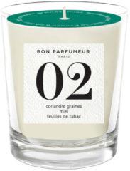 Bon Parfumeur Geurkaarsen en Diffusers 02 seed of coriander honey tobacco leaf Bruin