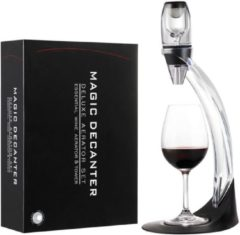 Zwarte United Entertainment United Entertainmant Magic Wine Decanter- Wijnbeluchter - Deluxe
