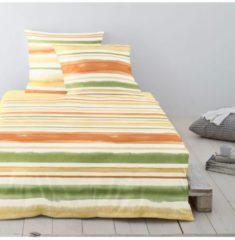 Mako-Satin Bettwäsche EOS 8758-40 Irisette gelb