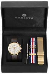 Goudkleurige Meisteranker 3-delige horlogeset Meister Anker goudkleur