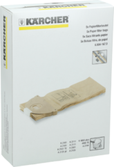 Kärcher Staubtüten 2101/2301/2901/2251 ( 5 Stück ) 6.904-167.0