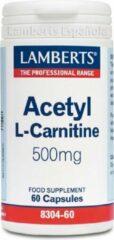 Lamberts Acetyl l-carnitine 500 mg 60 Capsules
