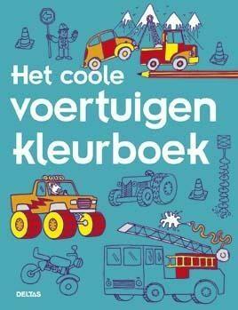 Afbeelding van Bruna Het coole voertuigen kleurboek - Boek Deltas Centrale uitgeverij (9044743562)