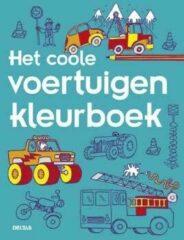 Bruna Het coole voertuigen kleurboek - Boek Deltas Centrale uitgeverij (9044743562)
