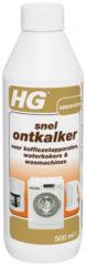 HG Snelontkalker voor Koffiezetapparaten, Waterkokers & Wasmaschines