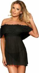 Subblime Vestidos /Dresses Subblime - elegante jurk - sexy jurkje - exclusief design - maat L/XL - zwart / sex / erotiek toys