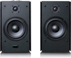 Lenco SPB-260 - Bluetooth speakers set van twee hifi speakers – Zwart