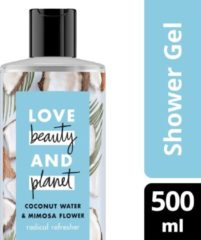 Love Beauty and Planet Coconut Water & Mimosa Flower radical refresher douchegel - 500 ml