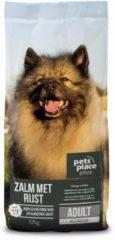 Pets Place Plus Hond Adult Zalm - Hondenvoer - 12 kg - Hondenvoer