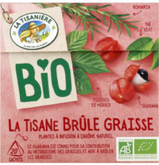 La Tisaniere Brule Graisse Bio (20zk)