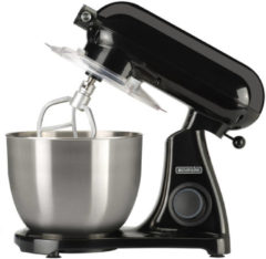 Zwarte Bourgini Steel Kitchen Chef Pro - keukenmachine - 22.5195.00