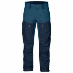 Fjällräven - Keb Trousers - Trekkingbroeken maat 50 - Regular - Fixed Length, blauw