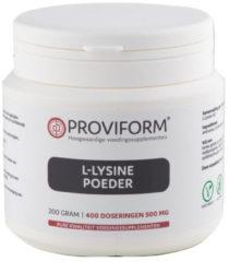 Proviform L-Lysinepoeder 200 Gram