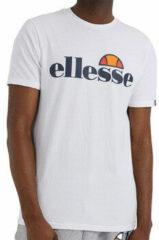 Marineblauwe Ellesse T-shirt - Mannen - wit/navy