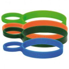 Klean Kanteen - Silikon Tragering für Edelstahl Trinkbecher maat One Size, blauw/olijfgroen/groen/oranje