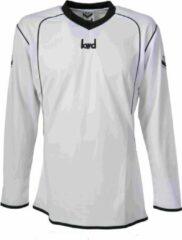 KWD Sportshirt Victoria - Voetbalshirt - Volwassenen - Maat L - Wit/Zwart