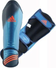 Adidas scheenbeschermers Speed Super Pro blauw/oranje maat S/M