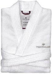 TOM TAILOR Basic badjas, white, XL