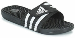 Zwarte Teenslippers adidas Adissage Badslippers