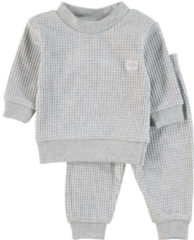 Feetje Wafel Pyjama Grijs Melee Mt. 56