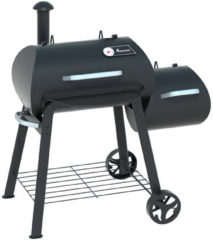 LANDMANN Vinson 200 Barbecue Kolen Verrijdbaar Zwart