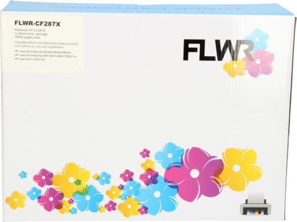 Afbeelding van Zwarte HP / Huismerk Huismerk Comp HP 87A CF287A tonercartridge zwart standard capacity (0.00 pag/ml)