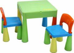 BlinQ 5-in-1 multifunctionele activiteitentafel & 2 stoelen - Veelkleurig (899UN)